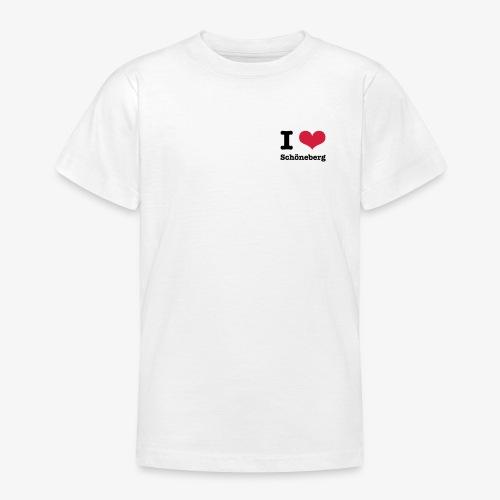 I love Schöneberg - Teenager T-Shirt
