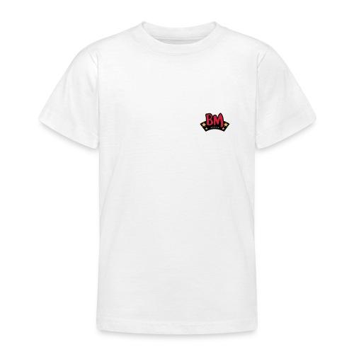 kids bootmonkey logo mini - Teenager T-Shirt