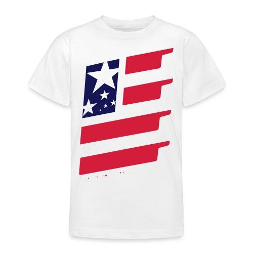 FlagUSA-URBAN - Camiseta adolescente