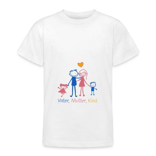 Vater, Mutter, Kind - Teenager T-Shirt