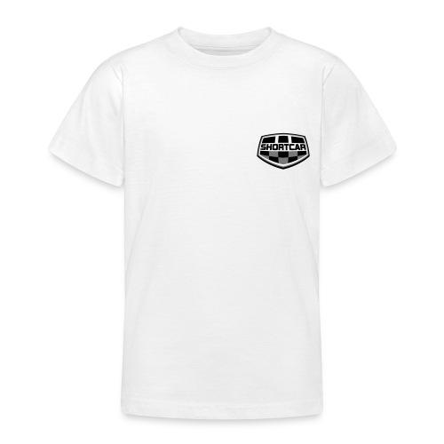 Sort Hvitt logo vektor - T-skjorte for tenåringer