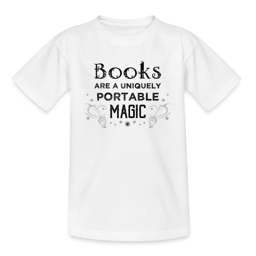 0027 book lover | Magic | Reading | Reader | book - Teenage T-Shirt