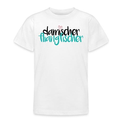 Damischer Doagfischer - Teenager T-Shirt