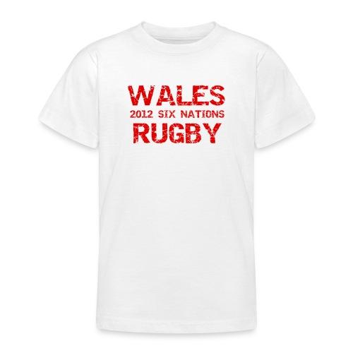 wales six nations - Teenage T-Shirt
