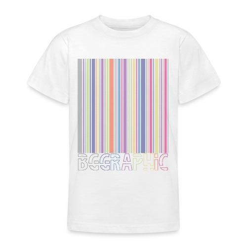 Bar code - Koszulka młodzieżowa