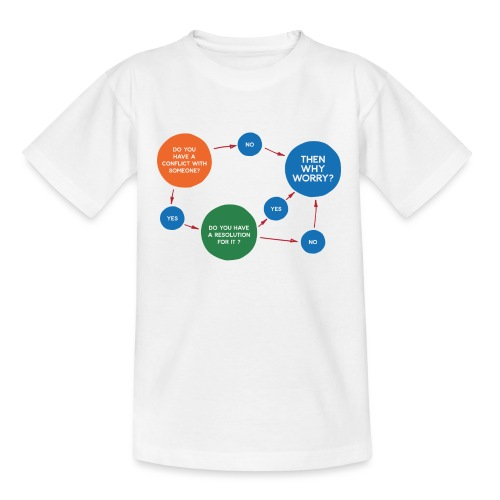 Conflict & Resolution - Teenager T-Shirt