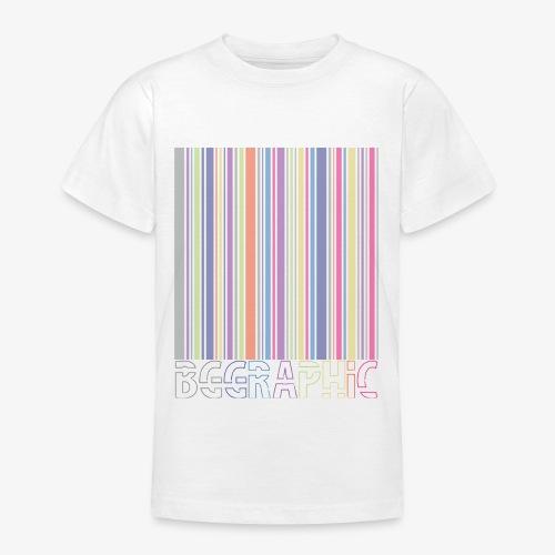 Bar code - Maglietta per ragazzi