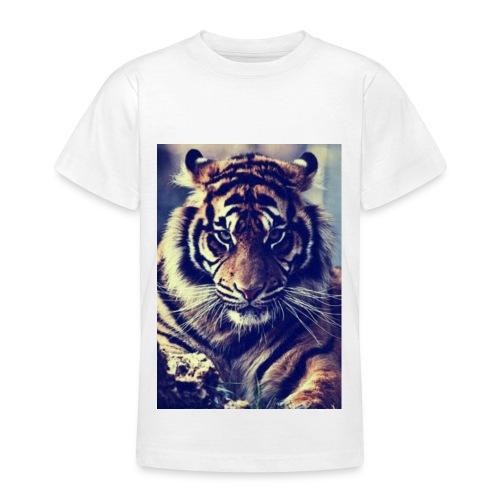 TijgerSerieus jpg - Teenager T-shirt