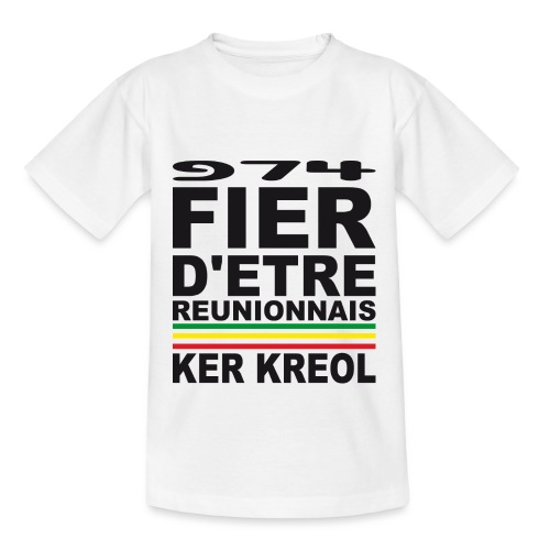 974 ker kreol fier et culture - T-shirt Ado