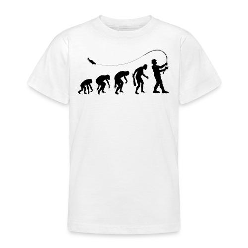 Evolution of fischers - Teenager T-Shirt