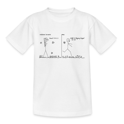 A flying tiger! - Teenager T-Shirt