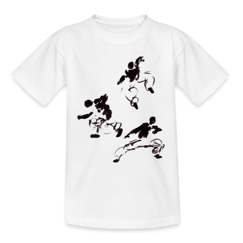 3 kungfu - Teenage T-Shirt