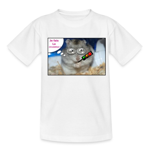 humour circulation jpg - T-shirt Ado