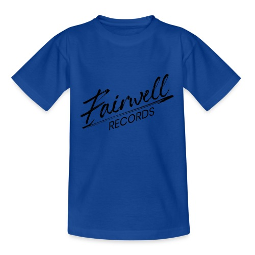 Fairwell Records - Black Collection - Teenager-T-shirt