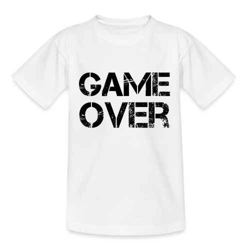Streamers-Unite - Game Over - Teenager T-shirt