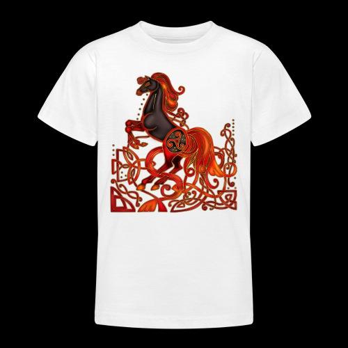 Celtic Horse Night Mare - Teenage T-Shirt