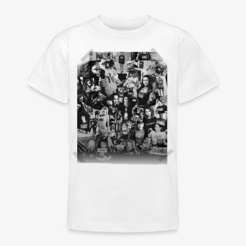 Ciuryburie Collagé - Teenager T-Shirt