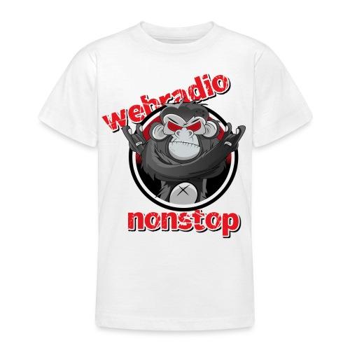 webradio nonstop logo rz png - Teenager T-Shirt