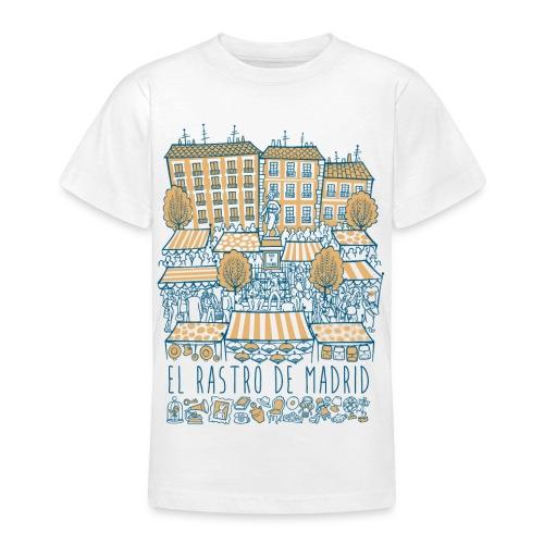 EL RASTRO DE MADRID - Camiseta adolescente