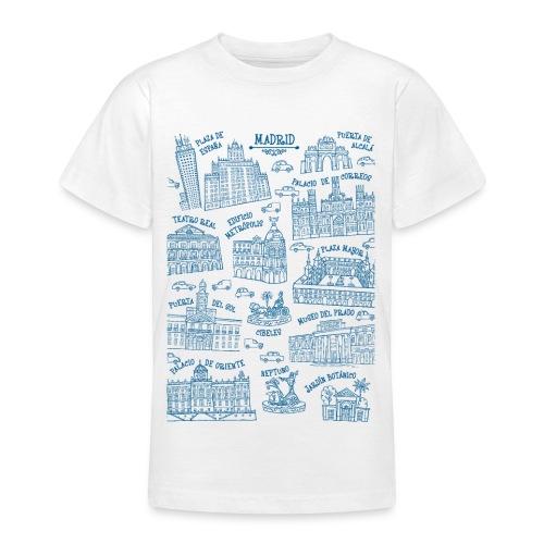 MADRID MONUMENTAL - Camiseta adolescente