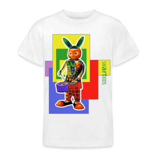 smARTkids - Slammin' Rabbit - Teenage T-Shirt