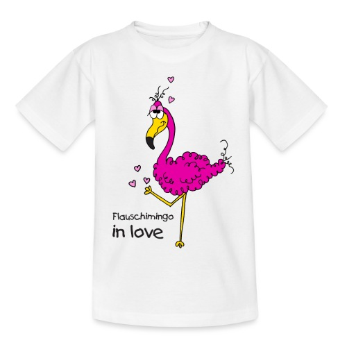 Flauschimingo in love - Teenager T-Shirt
