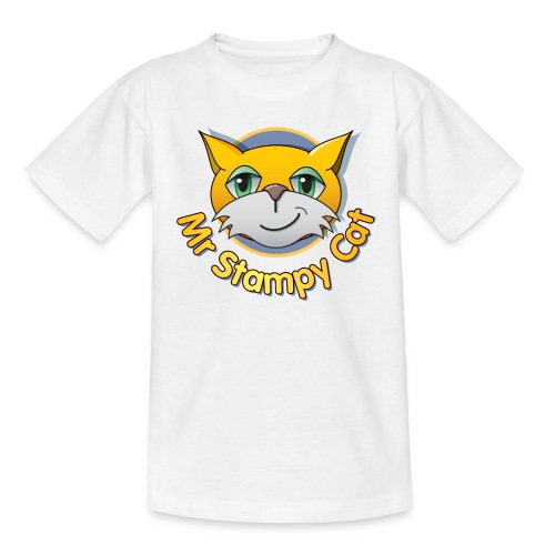 Mr Stampy Cat png - Teenage T-Shirt