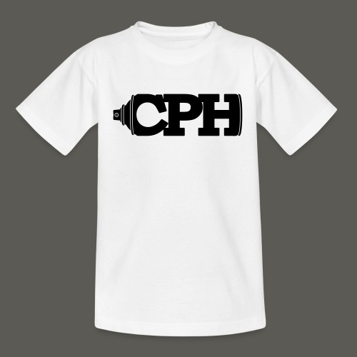 CPHMASS_LOGO_Can_CPH_SPRE - Teenager-T-shirt