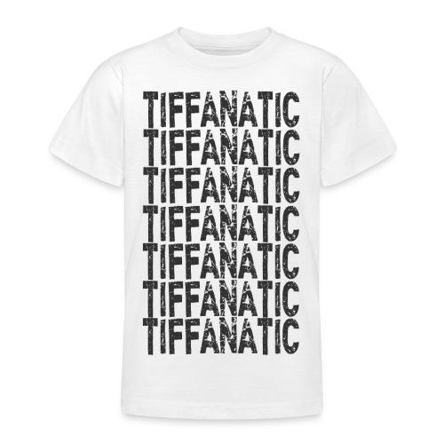 tiffanaticdinkresizeblack - Teenage T-Shirt