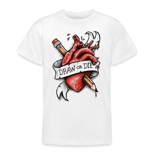 Draw or Die - Teenage T-Shirt