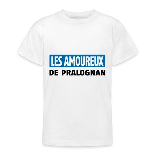 les amoureux de pralognan texte - T-shirt Ado