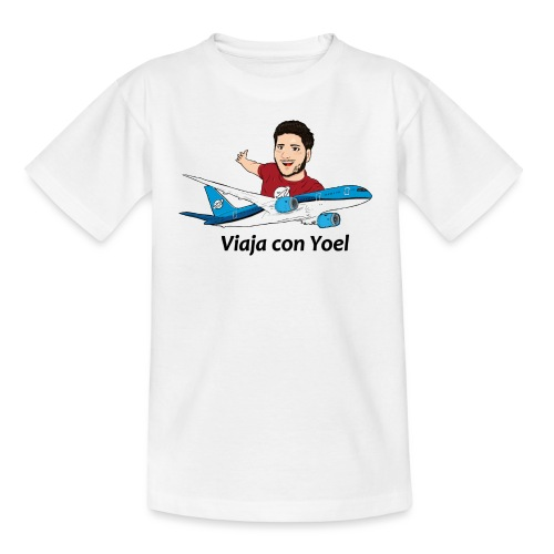 Frequent Flyer Red Viaja con Yoel - Camiseta adolescente
