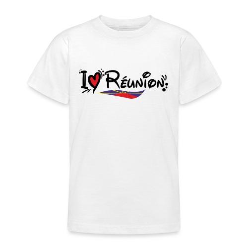 i love Réunion - T-shirt Ado