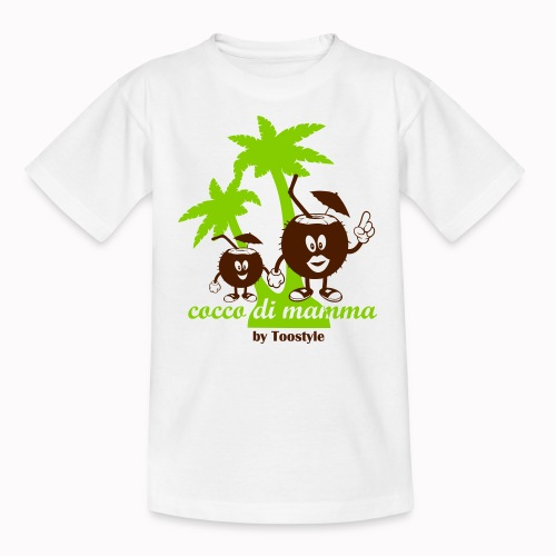 cocco di mamma tra le palme - Maglietta per ragazzi