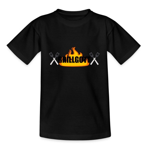 Grillgott Meister des Grillens - Teenager T-Shirt