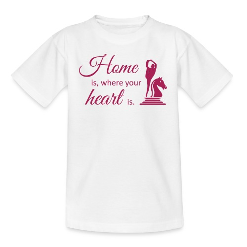Homeiswhereyourheartis EDITION - Teenager T-Shirt