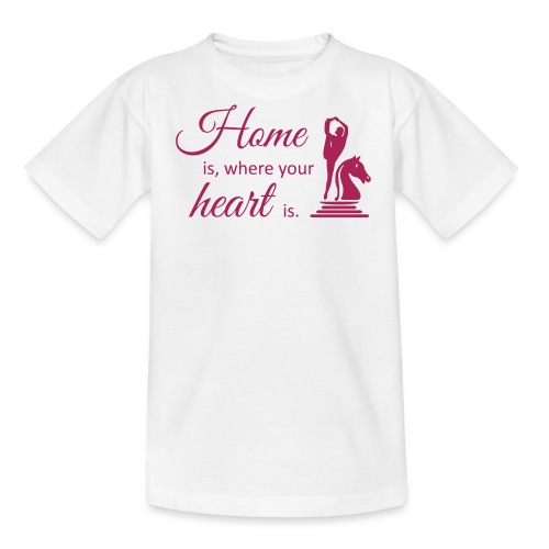 Homeiswhereyourheartis EDITION - Teenager T-Shirt