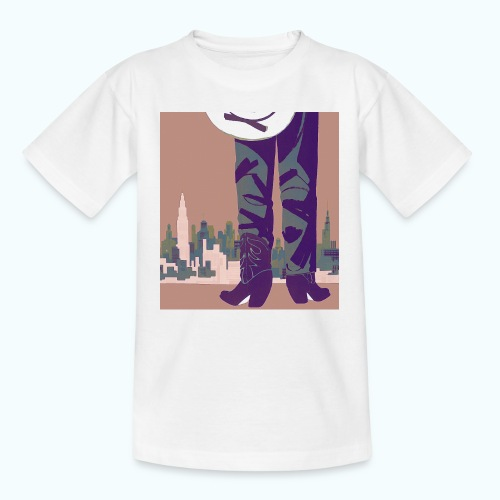 Texas vintage travel poster - Teenage T-Shirt