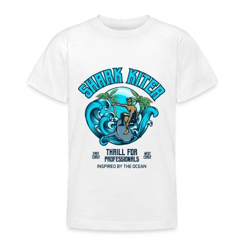 Shark Kitesurfer for professionals - Teenager T-Shirt