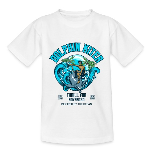 Dolphin Kitesurfer for advanced - Teenager T-Shirt