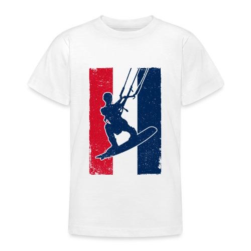 Kitesurfer France - Teenager T-Shirt