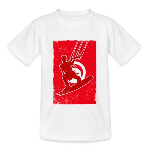 Kitesurfer Tunisia - Teenager T-Shirt