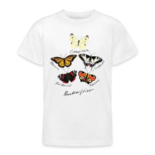 Butterflies - Teenage T-Shirt
