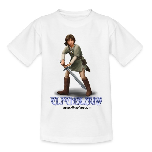 Elfenblauw Sander - Teenager T-shirt