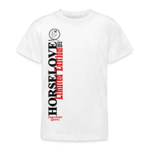 Horselove Limited Edtion Pferd Reiten - Teenager T-Shirt