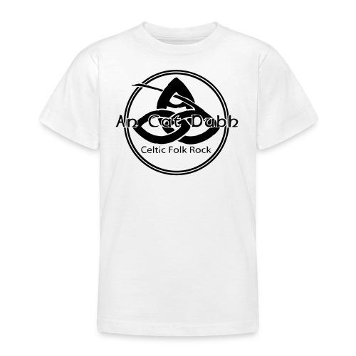 ancatdubh vektorlogo - Teenager T-Shirt