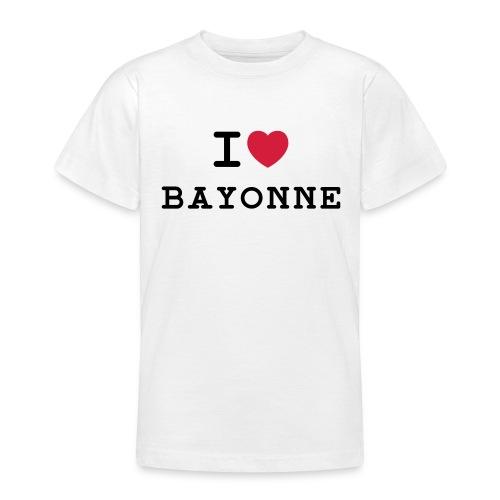 ilovebayonne - T-shirt Ado