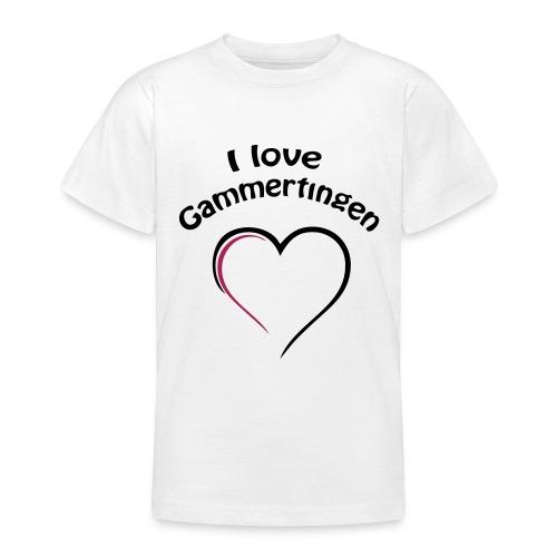 i love gammertingen - Teenager T-Shirt