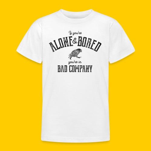 Alone & Bored - T-shirt tonåring