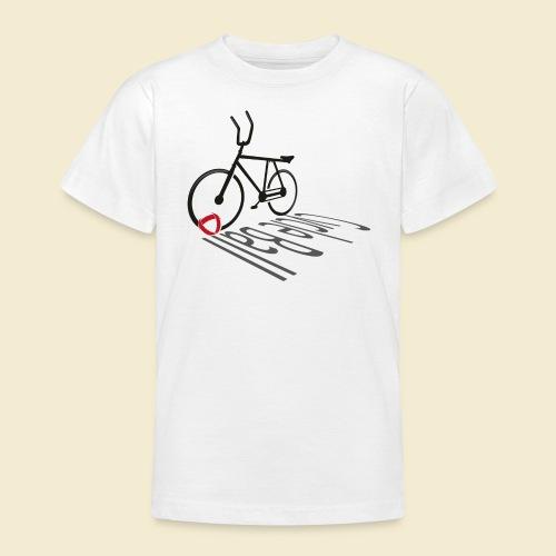 Radball | Cycleball Shadow - Teenager T-Shirt